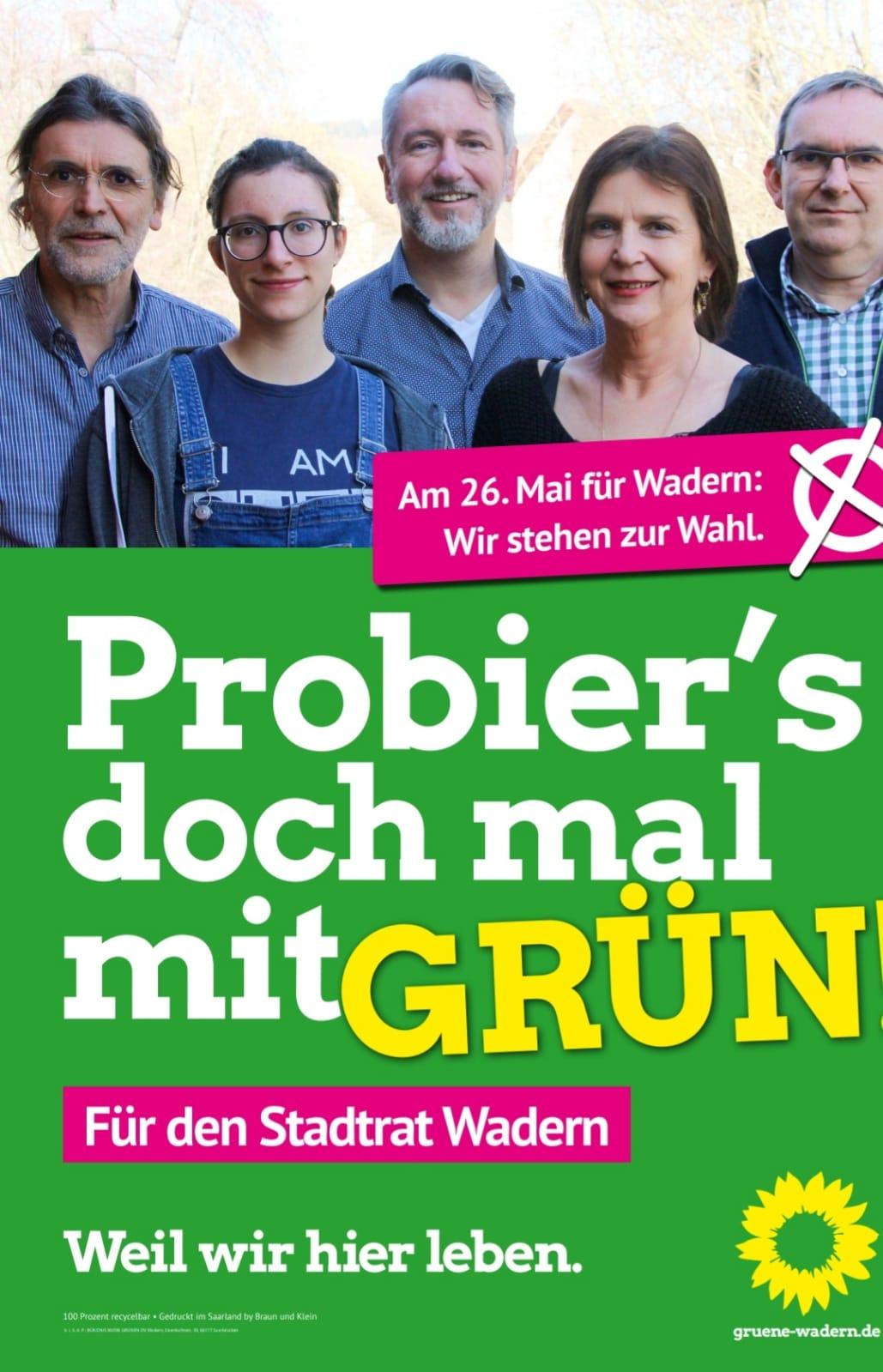 Unsere Plakate für die Kommunalwahl